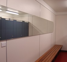 1 Changing rooms