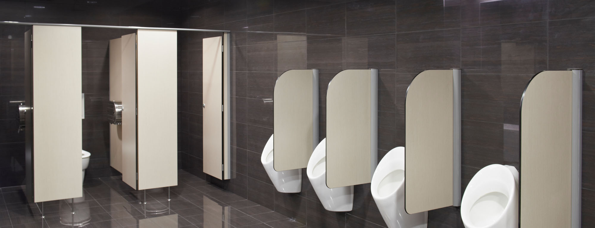Bathroom Urinal Partitions ablution solutions & toilet partitions - resco new zealand