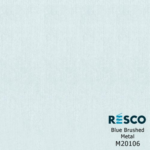Resco Antibac - Blue Brushed Metal