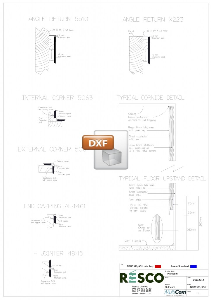 Multicom DXF